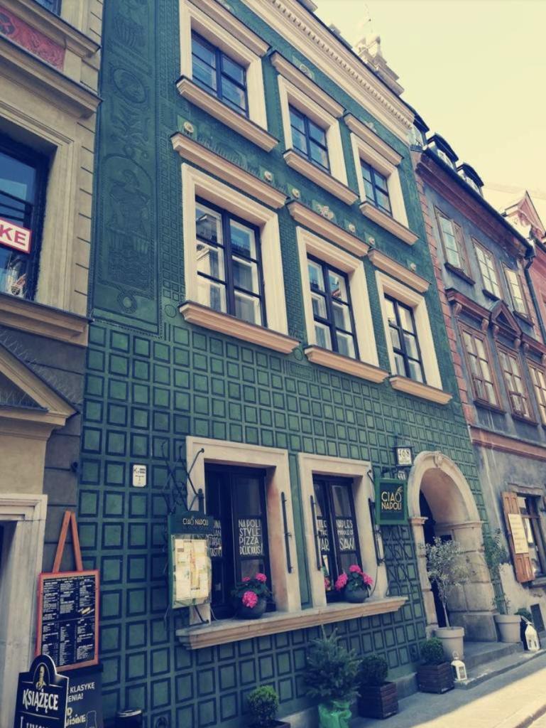 façade Varsovie